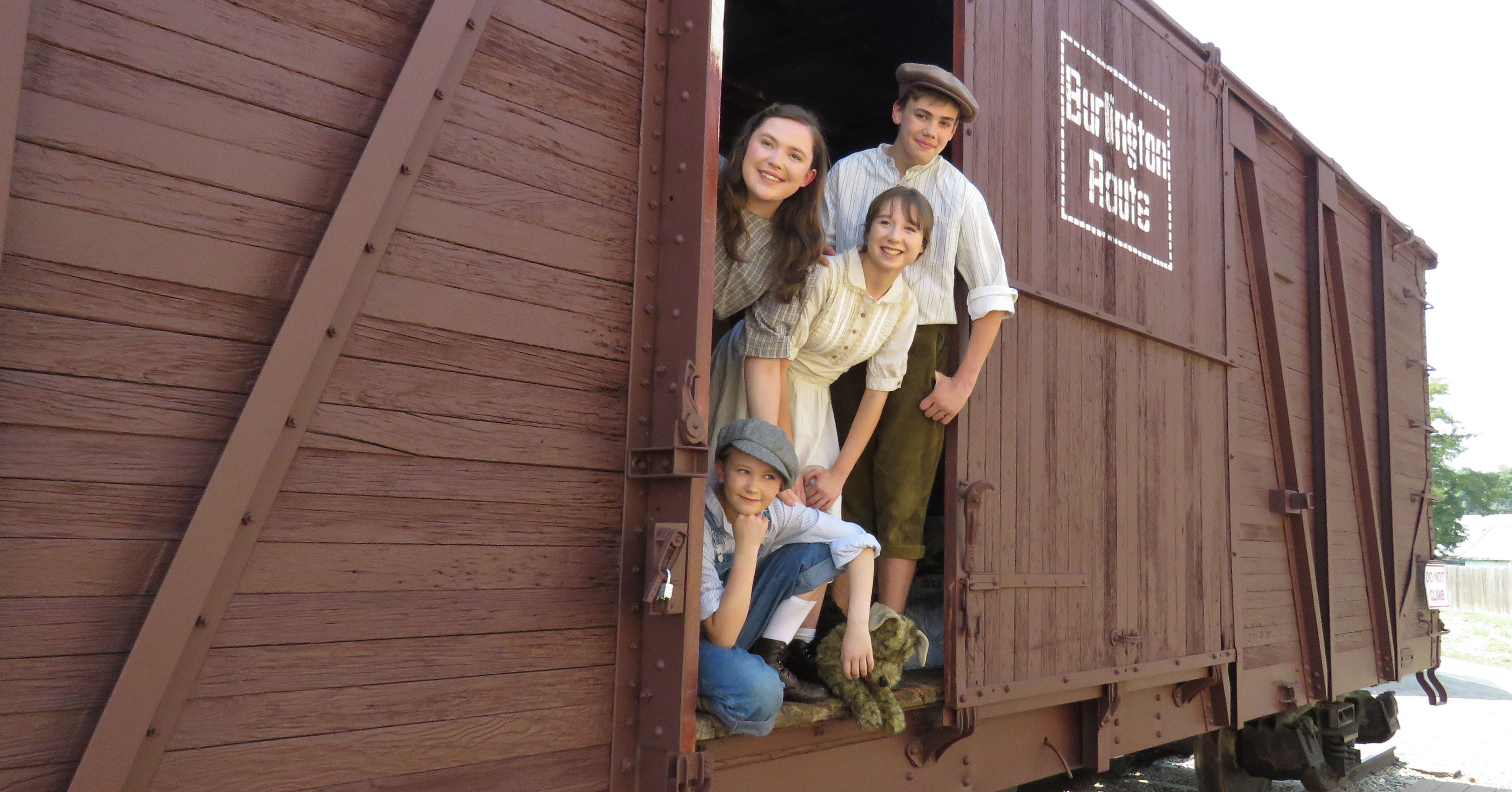 boxcar children The aldens begin their adventure by making a home in a boxcar their goal is to stay together, and in the process they find a grandfather.
