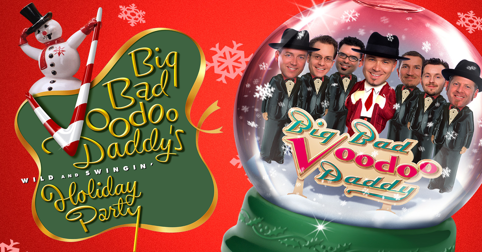 Big Bad Voodoo Daddy S Wild And Swingin Holiday Party