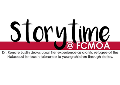 FCMOA Storytime: Dr Renate Justin